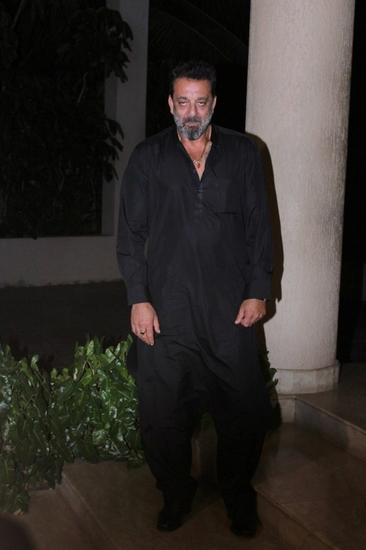 Sanjay Dutt Celebrates the Completion of Movie Bhoomi