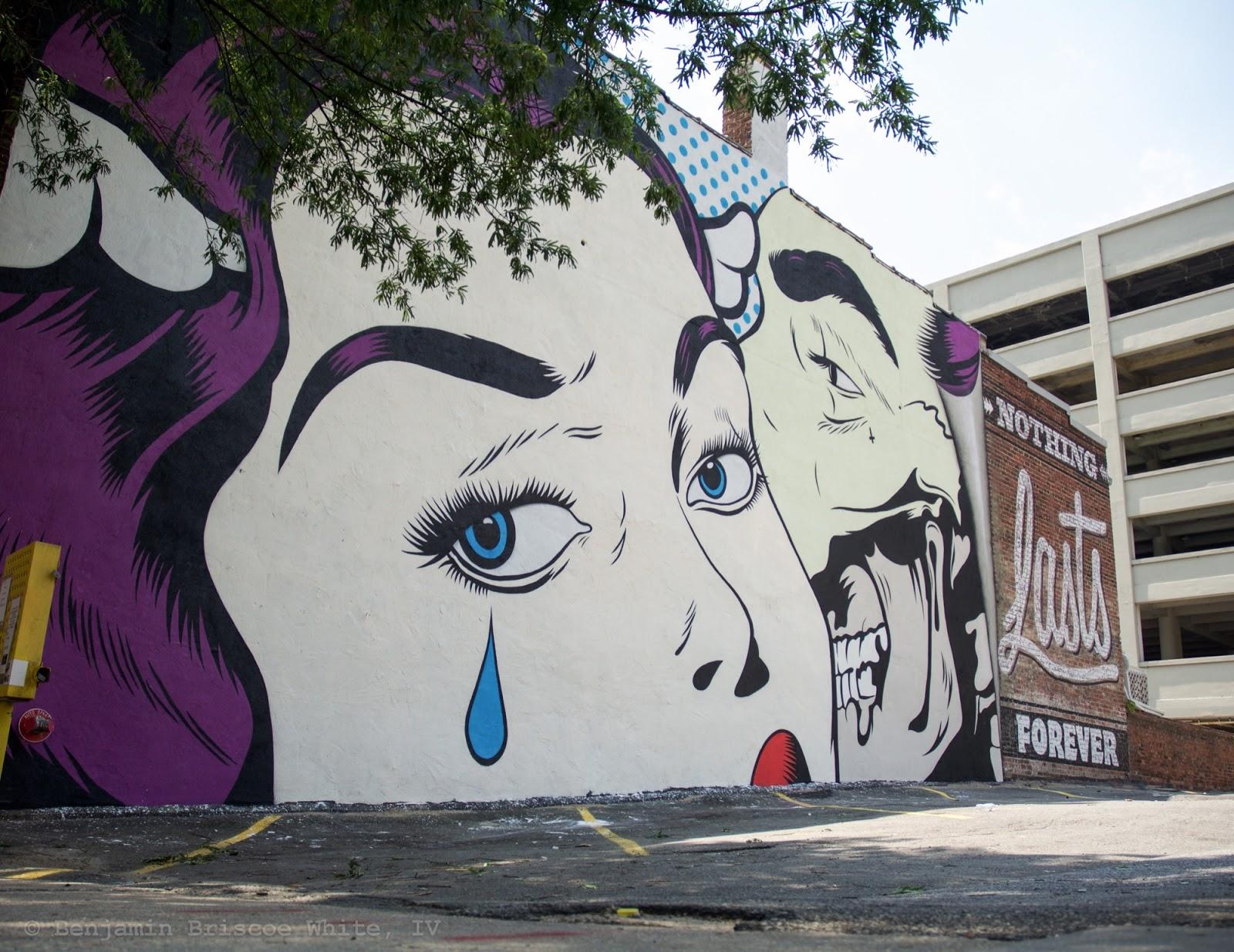 Nothing Lasts Forever A New Piece By Dface In Richmond Virginia Streetartnews Streetartnews