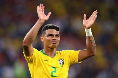Thiago Silva có nhiều kinh nghiệm hơn hẳn