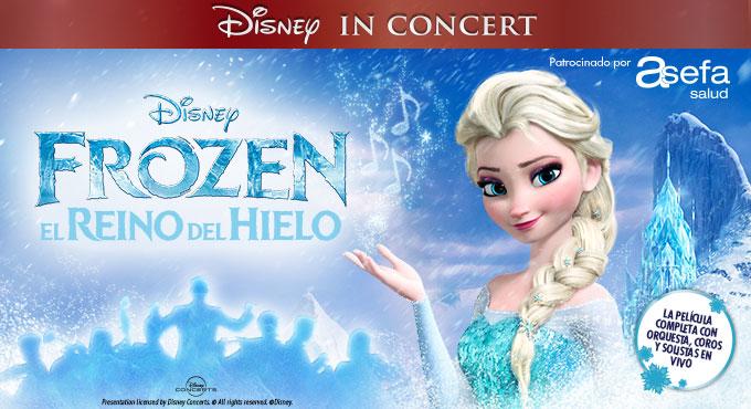 Frozen in Concert: El Reino del Hielo