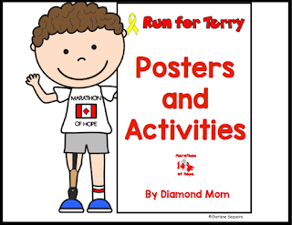 https://www.teacherspayteachers.com/Product/Terry-Fox-Posters-and-Activities-2087557