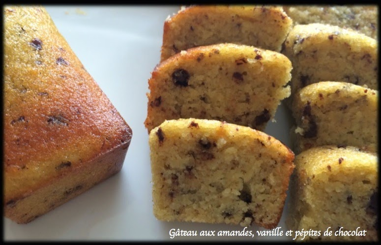 Petits Cakes Pepites Chocolat Amandes Sans Gluten