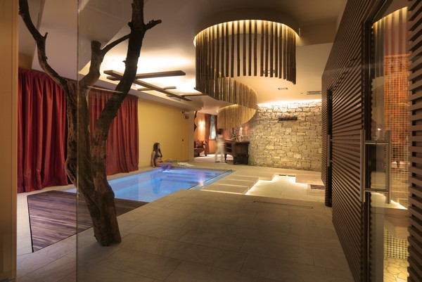 Architecture homes ayurveda spa and sauna by studio for Pool design center