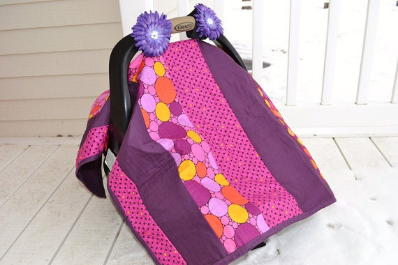 Isnu0027t this quilt just to die for? & Quilt - As - You - Go Car Seat Canopy Free Pattern | A Vision to ...