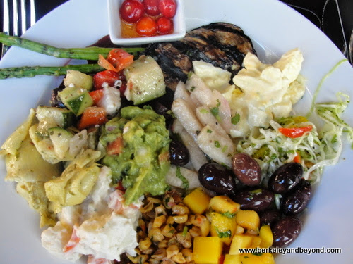 salads at Galeto Brazilian Grill in Oakland, California