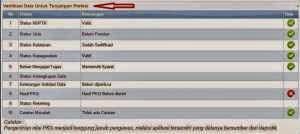 menu verifikasi data tunjangan info ptk