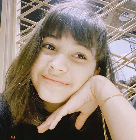 Sandrinna Michelle pemeran Wulan Dari Jendela SMP