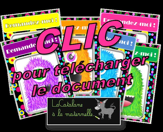 Etiquettes élèves de référence (LaCatalane)