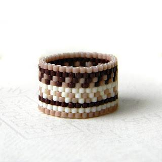 этническое кольцо из бисера купить интернет магазин колец