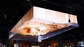 SLSホテルカジノ、3D天井