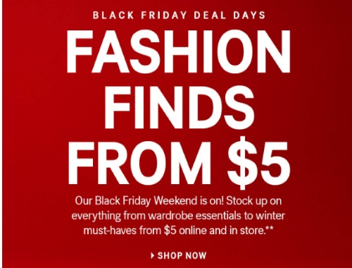 H&M Black Friday Deal Days Fashion Finds From $5