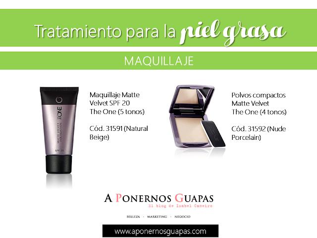 Tratamiento para la piel grasa Maquillaje Matte Velvet Oriflame A Ponernos Guapas