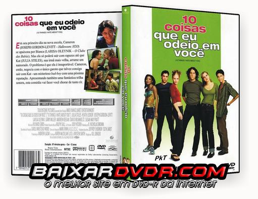 10 COISAS QUE EU ODEIO EM VOCÊ (1999) DUAL AUDIO DVD-R OFICIAL