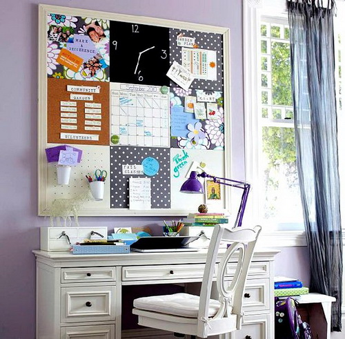 Decorating Ideas For Study Spaces: Teen Girl Study Spaces