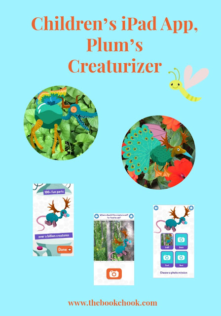 Children's iPad App, Plum's Creaturizer