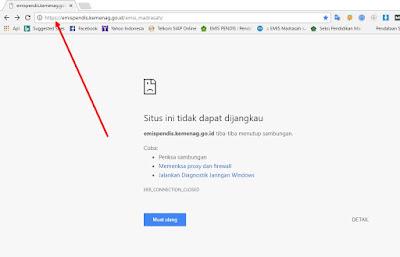 Cara Mudah Masuk Website Emis Online https://emispendis.kemenag.go.id/emis_madrasah/