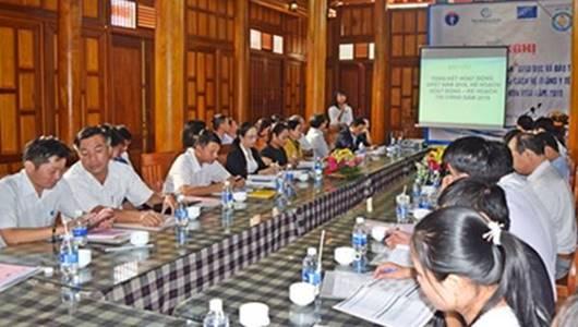 """Hội nghị triển khai Kế hoạch hoạt động Dự án """"Giáo dục và đào tạo nhân lực y tế phục vụ cải cách hệ thống y tế"""" tỉnh Kon Tum năm 2019"""