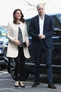 Kate Middleton, The Duchess Of Cambridge Goes Into Labour With 3rd Royal Child