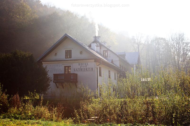 Ojców, Ojcowski Park Narodowy, małopolskie, Dolina Prądnika, Hotel pod Kazimierzem