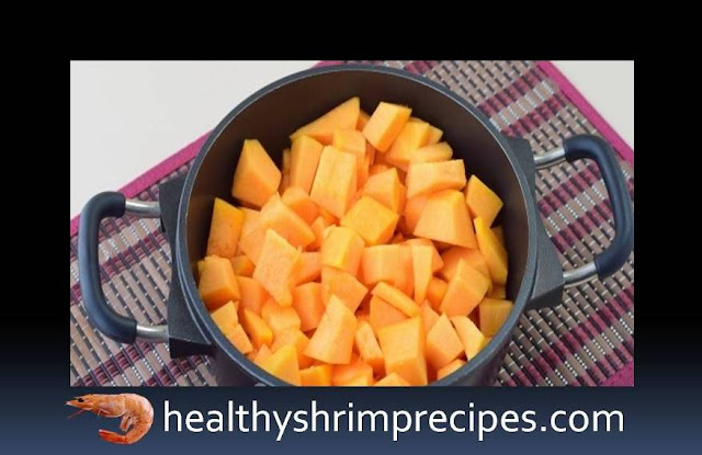 Healthy Pumpkin Shrimp Soup recipe