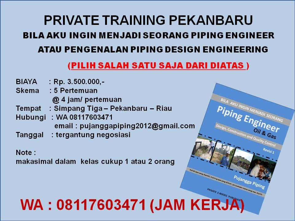 PRIVATE TRAINING PEKANBARU