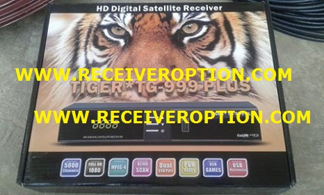 TIGER TG-999 PLUS HD RECEIVER AUTO ROLL POWERVU KEY NEW SOFTWARE