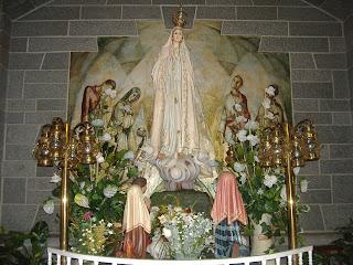 Nuestra Señora de Fatima Ven a nuestra casa