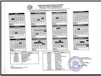 Download Kalender Pendidikan Madrasah Tahun Pelajaran 2018/2019