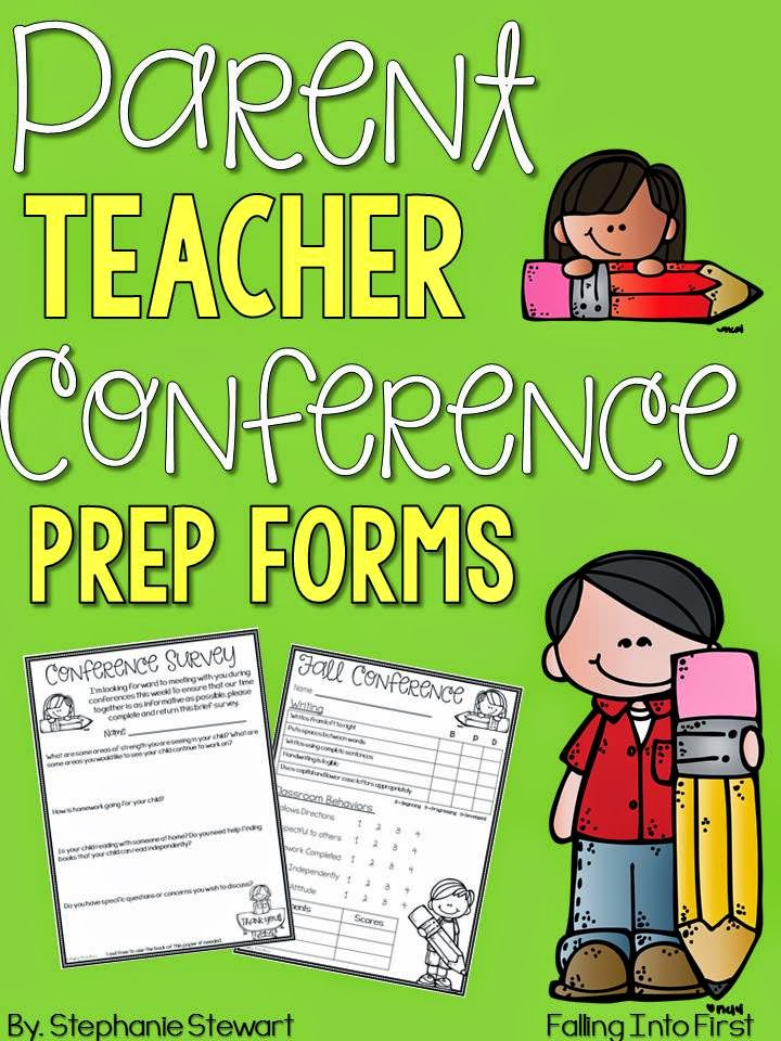 http://www.teacherspayteachers.com/Product/Parent-Teacher-Conference-Prep-1510638