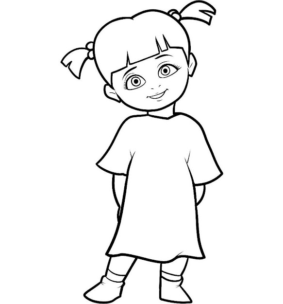 Does Your Little Champ Feels Excited Watching Monsters Inc Animated Film  Now You Can Own The Disney Classic With These Fun Monsters Inc Coloring  Pages