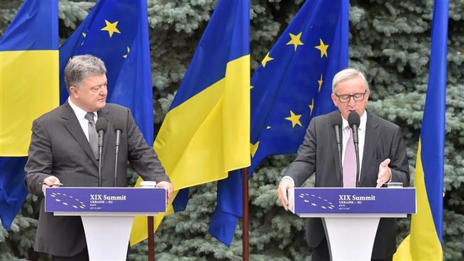 President of the European Commission Jean-Claude Juncker calls 'corruption' main problem in Ukraine