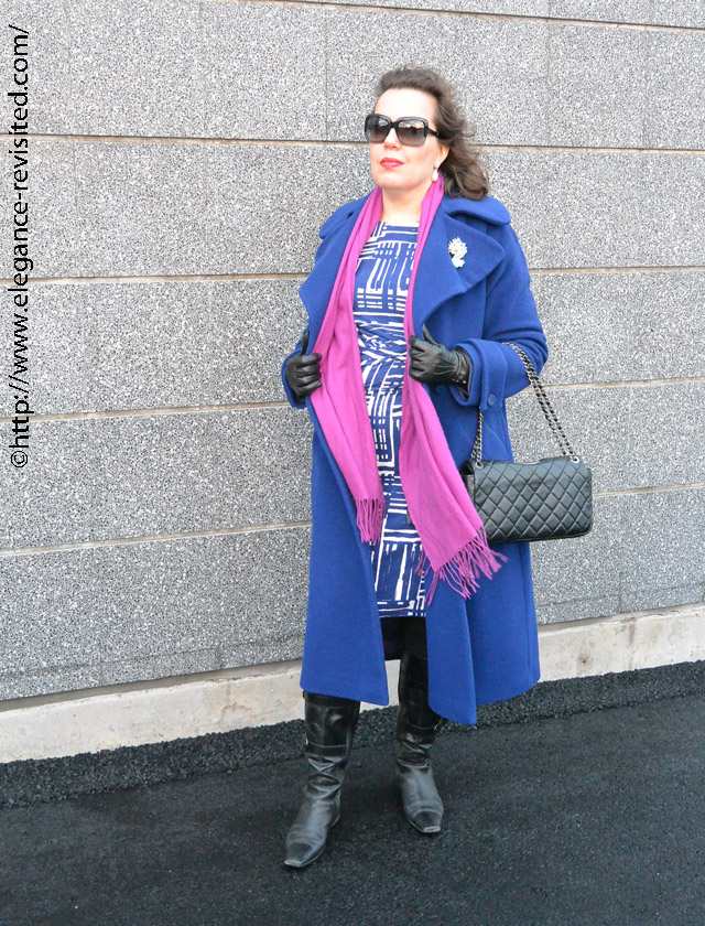 long wool coat over 40