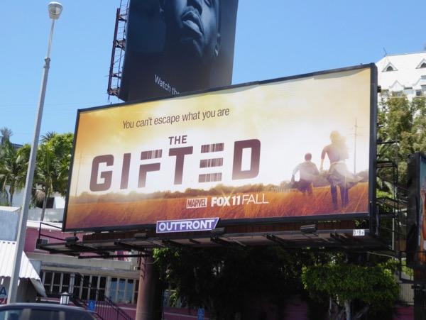 Gifted series premiere billboard