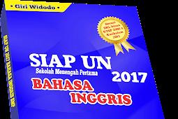 Modul SIAP UN 2017 Bahasa Inggris SMP