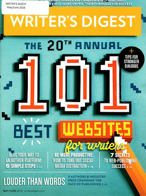 Writer's Digest magazine cover.