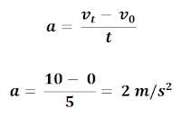contoh soal percepatan dan pembahasannya