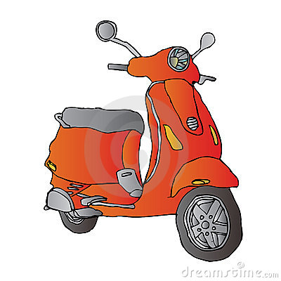 https://www.dreamstime.com/royalty-free-stock-photography-scooter-image5354507#res487314