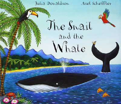 The Snail And The Whale, part of Julia Donaldon book review list with crafts, activities and other resources