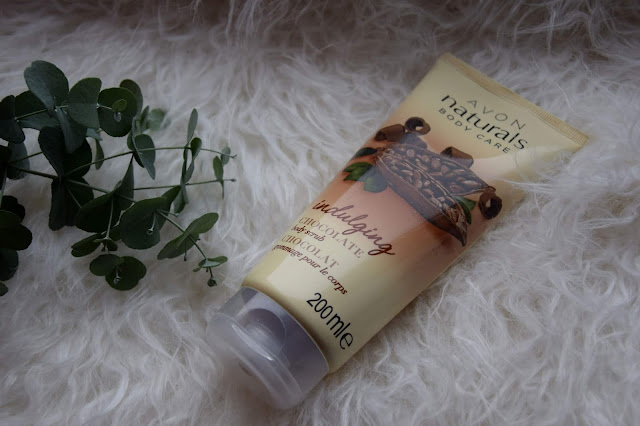 Czekoladowy scrub do ciała, Avon Naturals Body Care