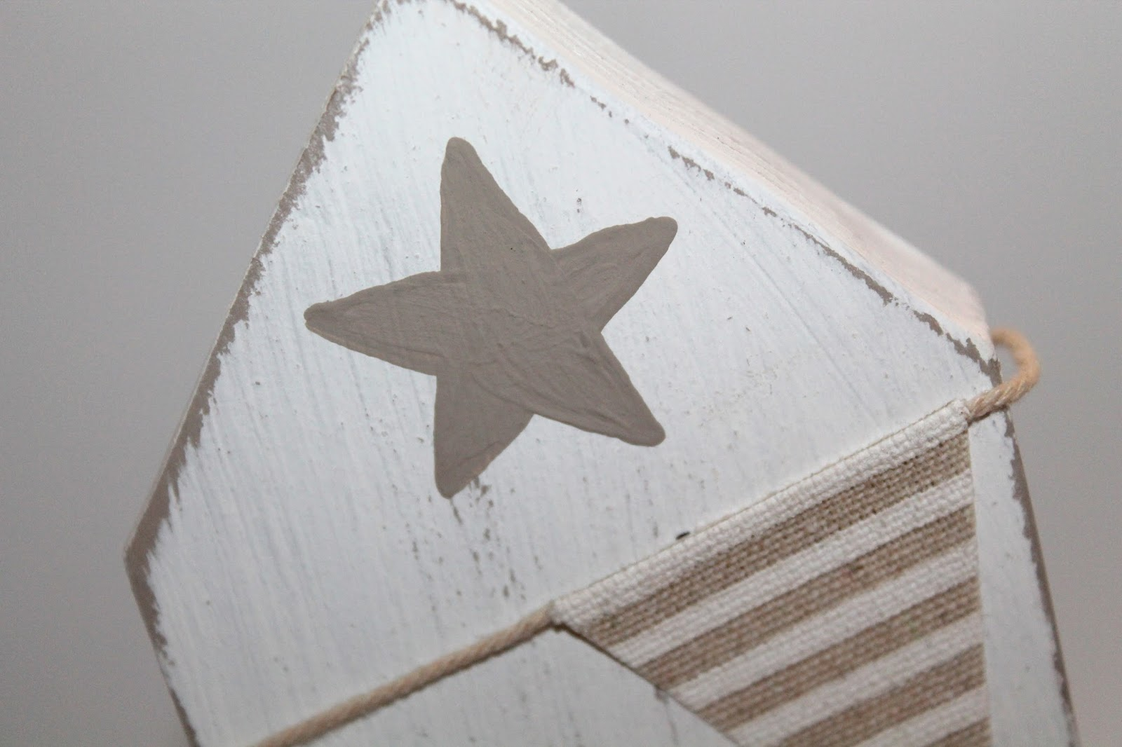 DIY, Basteln: Häuschen Laubsägearbeit Shabby Chic aus Holz als Geschenkidee und Wohndekoration - DIYCarinchen