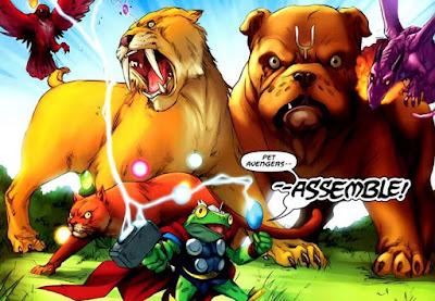 pet avengers adalah anggota
