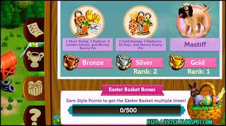 Easter baskets, trophies, FarmVille 2: Easter Egg-stravaganza