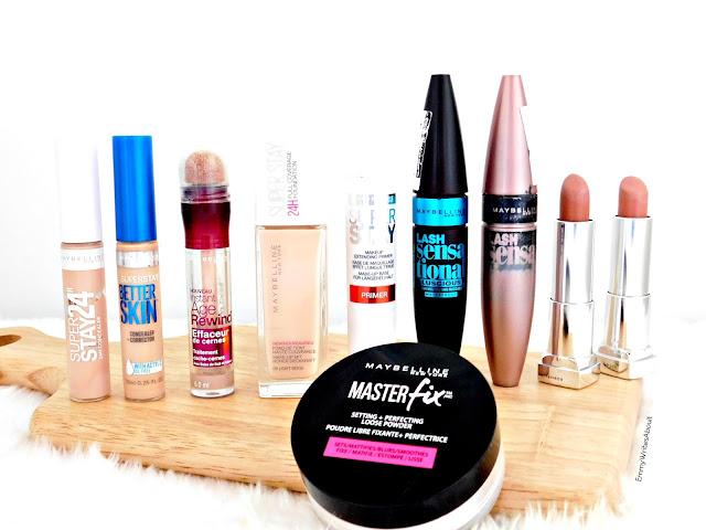 Maybelline Makeup, drugstore makeup