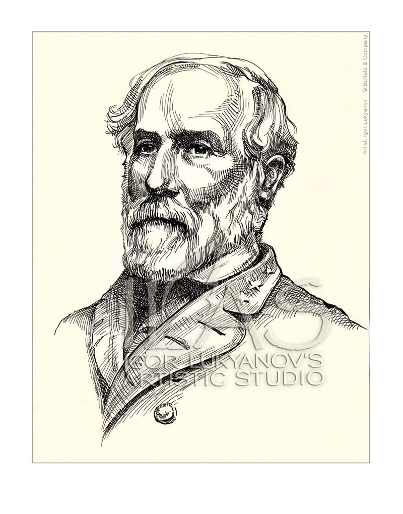 famous men portraits robert e lee. Black Bedroom Furniture Sets. Home Design Ideas