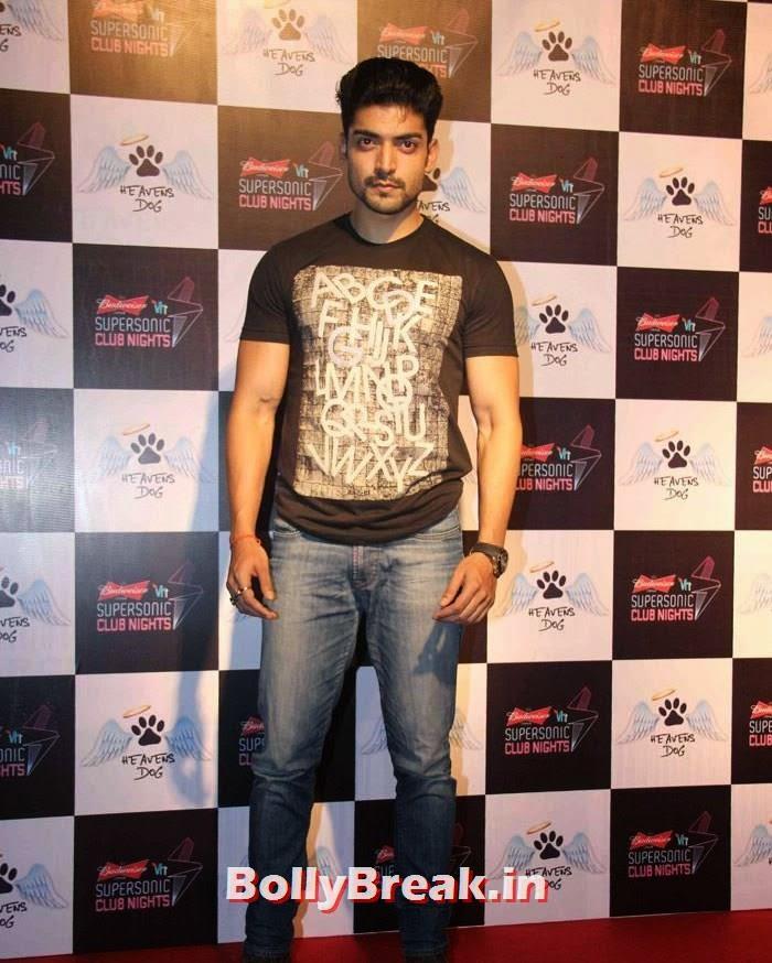 Gurmeet Choudhary, Heavens Dog Launch - Indian Tv Celebs pics september 2014