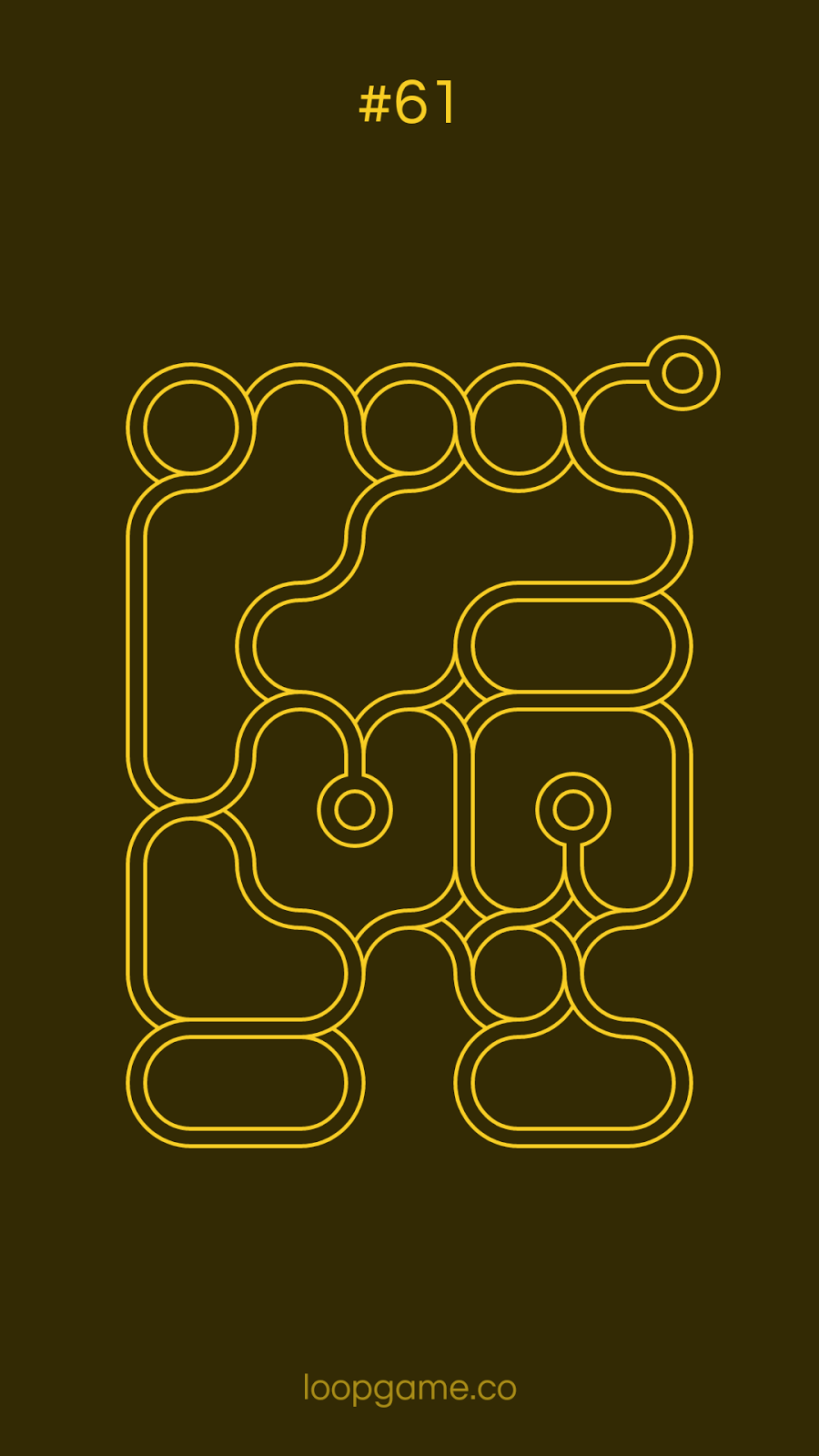 infinity loops level 61 solution