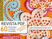 Revista con patrones de 60 motivos crochet