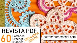 Revista de Patrones de Motivos de Crochet Irlandés PDF