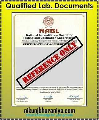 Qualified Laboratory Documentation in PPAP (Production Part Approval Process)