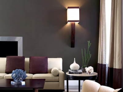 Deep Hues Living Room Design Ideas